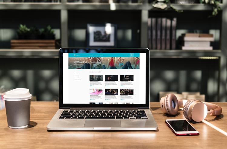 salle de sport système de vente en ligne sur votre site internet